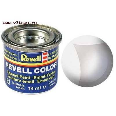 Бесцветная эмалевая глянцевая краска Revell Color, не кроющая Revell