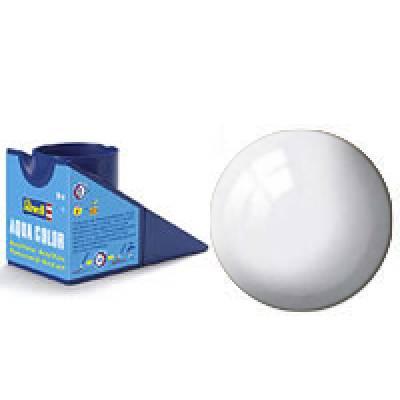 Аква-краска Revell - Белая, глянцевая, 18 мл Revell