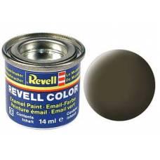 Краска черно-зеленая матовая  Revell