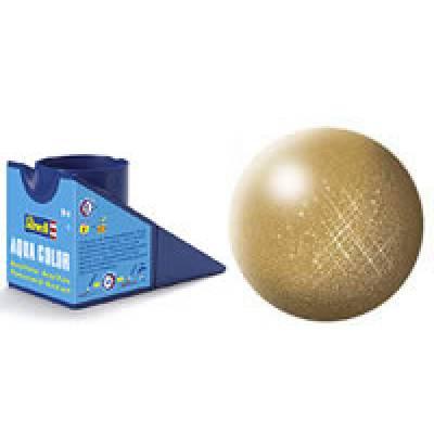 Аква-краска Revell - Золото, металлик, 18 мл Revell