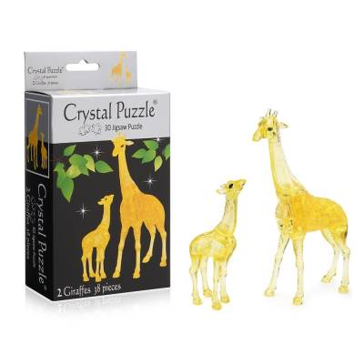 3D головоломка Два жирафа Crystal Puzzle