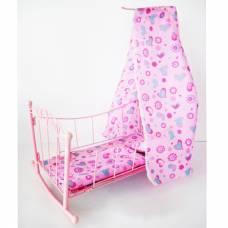Металлическая кроватка для кукол