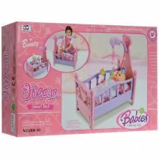 Кроватка для куклы Dream Sweet Bed