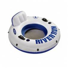 Плавательный круг Riverrun со спинкой и 2 ручками Intex