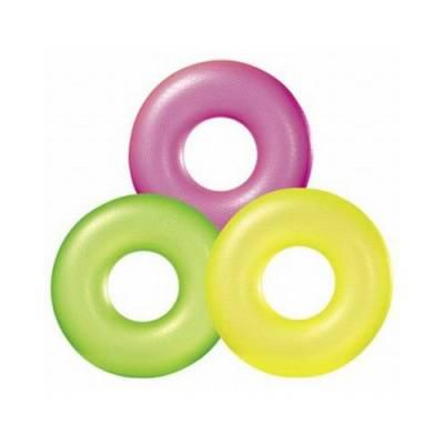 Надувной круг Transparent Tube, 76 см Intex