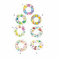 Надувной круг Lively Print Swim Rings, 51 см Intex