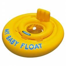 Надувной круг My Baby Float с трусиками, 67 см Intex