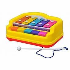 Детский ксилофон в пакете, 5 тонов Shantou