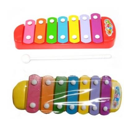 Детский ксилофон Music в пакете, 7 тонов Shantou