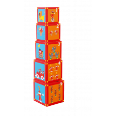 Кубики Stacking Tower Сircus, 5 шт. Scratch
