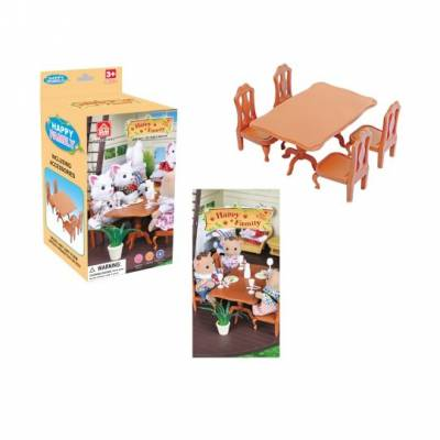 Игровой набор мебели для столовой Happy Family Junfa Toys