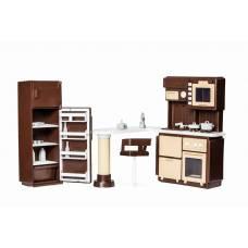 Набор кукольной мебели для кухни