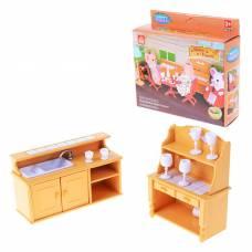Набор мебели для столовой Happy Family Junfa Toys