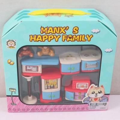 Игровой набор мебели Manx's Happy Family - Кухня Shenzhen Toys