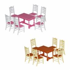 Набор мебели для кукол № 6, 7 предметов Полесье