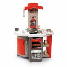 Детская Складная Детская кухня Tefal Opencook звук кипение 24 аксессуара Smoby 312203 Smoby