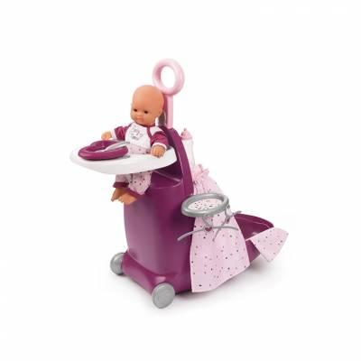 Игровой набор Baby Nurse 3 в 1 - Ясли в чемоданчике  Smoby