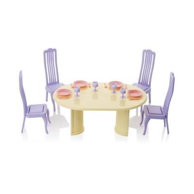 Столовая Маленькая принцесса. Набор мебели для столовой Завод Огонек