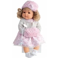 Кукла Белла в белом (плачет), 42 см Munecas Antonio