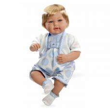 Кукла Elegance в голубой одежде (звук), 45 см Arias