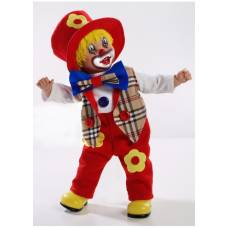 Виниловая кукла Elegance - Клоун, 50 см  Arias