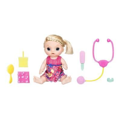 Интерактивная кукла Baby Alive - Малышка у врача (свет, звук) Hasbro