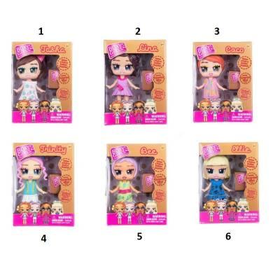 Mini Boxy Girls с аксессуаром, 8.5 см 1TOY