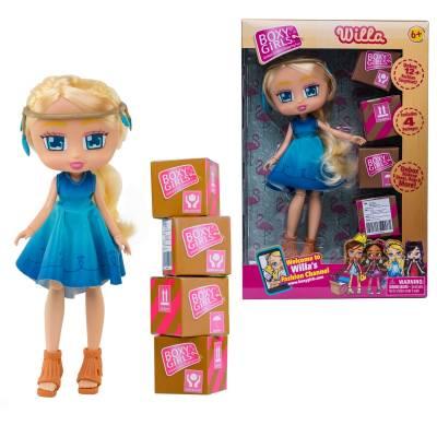 Кукла Boxy Girls - Willa с аксессуарами, 20 см 1TOY