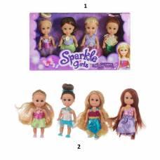 Игровой набор Sparkle Girlz - Куклы-феи, 10 см Funville