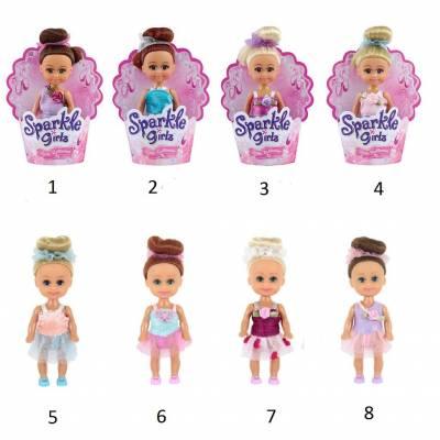 Кукла Sparkle Girlz - Маленькая балерина, 10 см Funville
