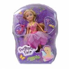 Кукла Brilliance Fair с цветочной диадемой - Блондинка в розовом, 26.7 см ABtoys