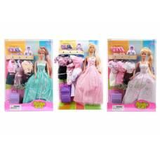 Кукла Fashion Girl - Люси с гардеробом и аксессуарами Defa Lucy