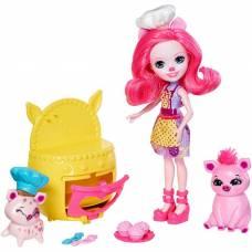 Игровой набор Enchantimals - Веселая пекарня Петти Пиг Mattel