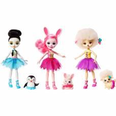 Набор из трех кукол Enchantimals