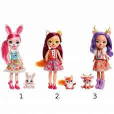 Большая кукла Enchantimals с любимой зверюшкой Mattel