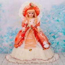 Кукла зонтик коллекционная керамика