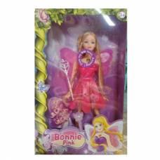 Кукла Abbie - Фея с аксессуарами (свет), в розовом, 29 см Shantou