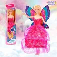 Кукла с крыльями «Фея цветов», гель с блёстками и стразы в наборе Happy Valley