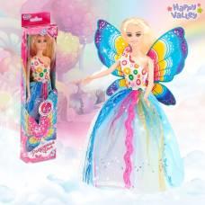 Кукла с крыльями «Радужная фея», гель с блёстками и стразы в наборе Happy Valley