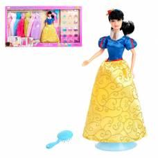 Кукла модель «Анна» с набором вечерних платьев и аксессуаров Defa Lucy