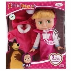 Кукла «Маша. Маша и медведь» с набором зимней одежды, 25 см Карапуз