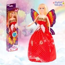 Кукла с крыльями «Фея огня», гель с блёстками и стразы в наборе Happy Valley