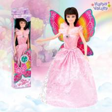 Кукла с крыльями «Фея воздуха», гель с блёстками и стразы в наборе Happy Valley
