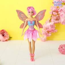 Кукла с порхающими крыльями «Волшебная фея», розовая Happy Valley