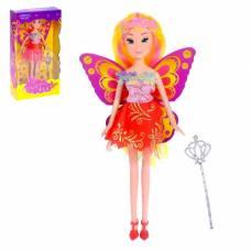 Кукла «Сказочная фея» с волшебной палочкой Happy Valley
