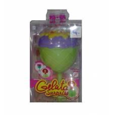 Кукла-кекс с аксессуаром Gelato Surprise, салатово-сиреневая Junfa Toys