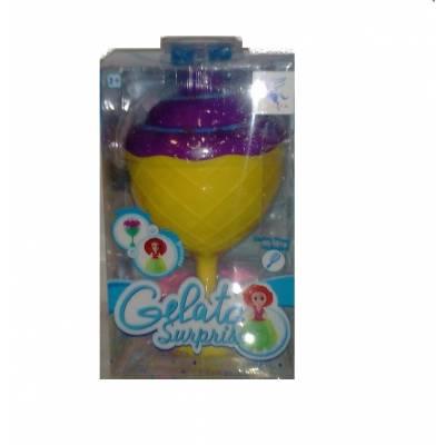 Кукла-кекс с аксессуаром Gelato Surprise, желто-фиолетовая Junfa Toys