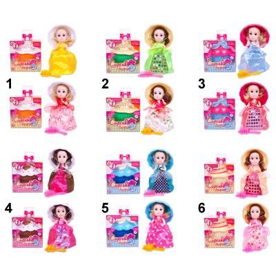 Кукла-кекс Cupcake Surprise с расческой Emco