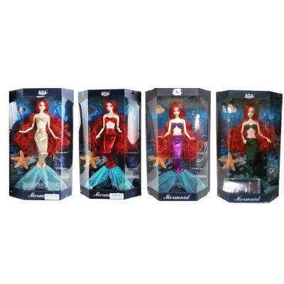 Кукла-русалка Mermaid с аксессуарами, 33 см Junfa Toys
