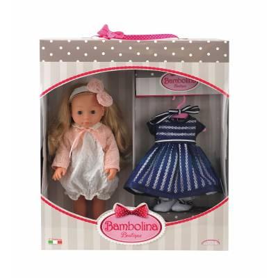 Кукла Bambolina - Модница с вечерним платьем, 40 см Dimian
